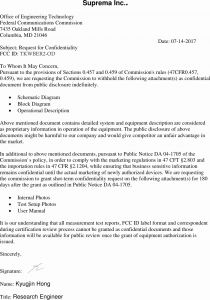 Disclosure Letter Template - Disclosure Letter Template Examples