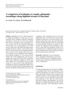 Dividing Fence Letter Template - Pdf A Parison Of Techniques to Sample Salamander assemblages