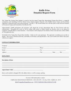 Donation Request Letter Template - Letter asking for Donations to Raffle Save Raffle Donation Letter