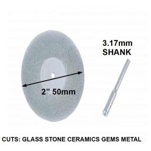 Dremel Letter Template - 50 Mm Diameter Diamond Cutting Wheel Cut Off Disc 3 17mm Fits Dremel
