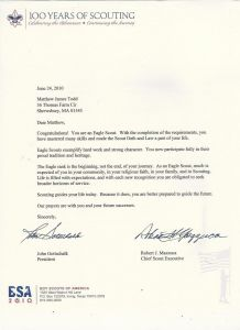 Eagle Scout Letter Of Recommendation Template - Eagle Scout Letter Re Mendation Template Examples