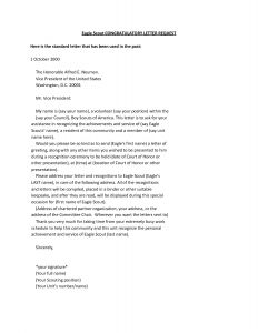 Eagle Scout Letter Of Recommendation Template - 20 Inspirational Eagle Scout Letters Re Mendation Land Of