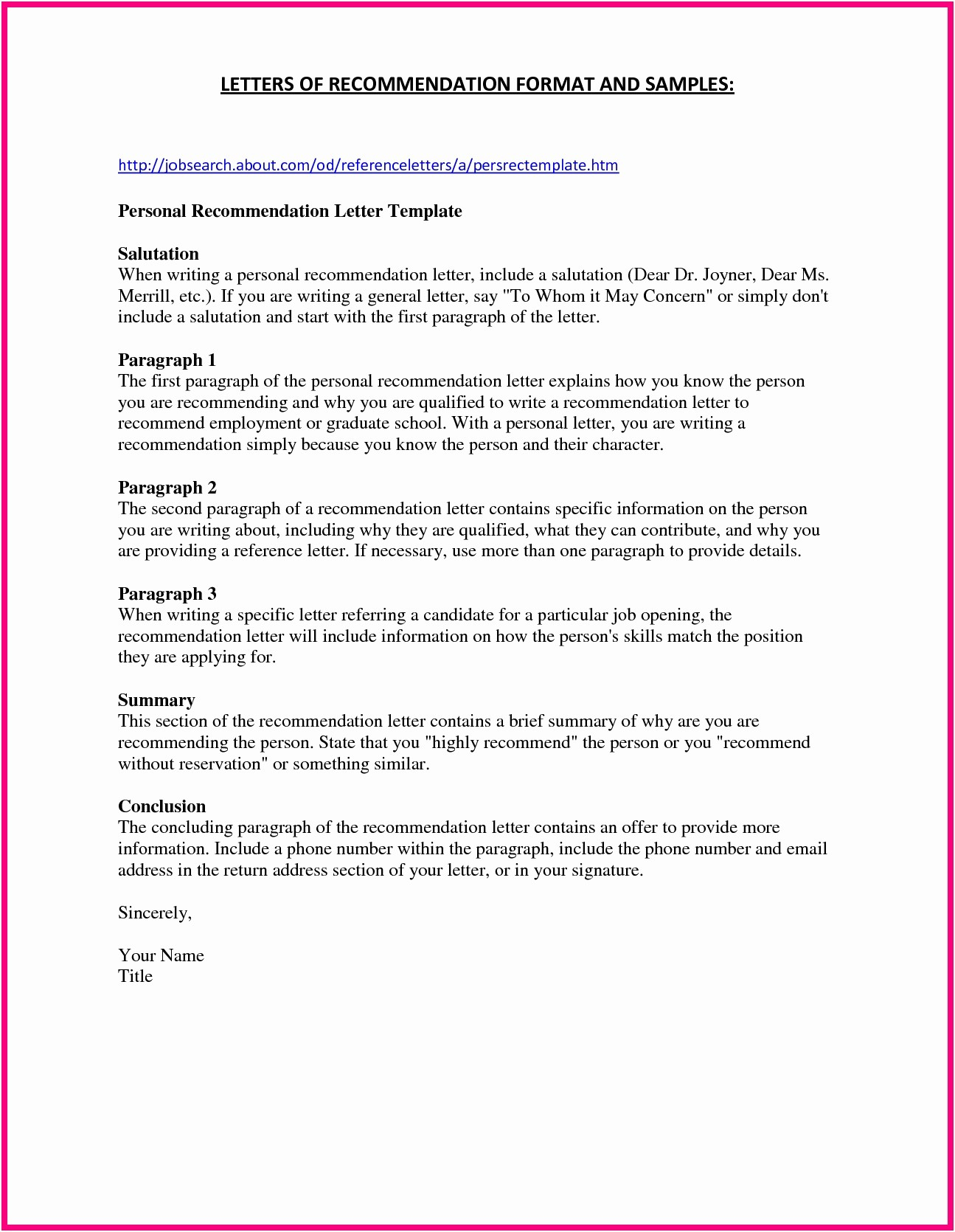 10 eagle scout letter of recommendation template