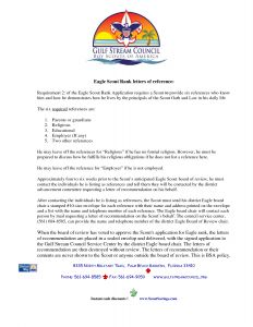 Eagle Scout Recommendation Letter Template - 20 Inspirational Eagle Scout Letters Re Mendation Land Of
