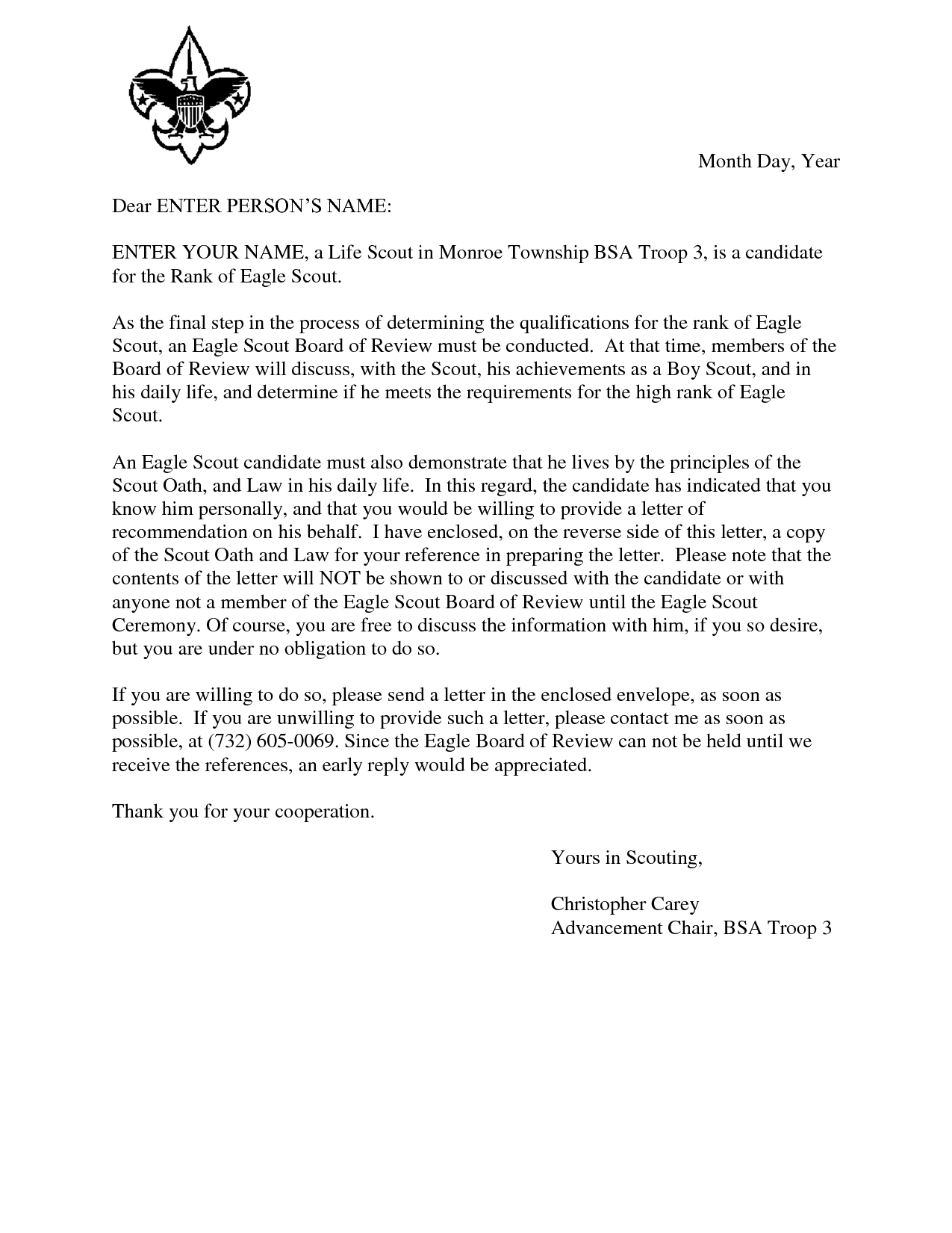 eagle scout recommendation letter template Collection-Eagle Scout Reference Request Sample Letter DOC 7 by Hfr990Q TGQFAGp7 9-a
