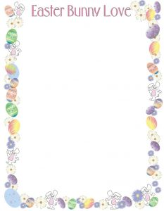 Easter Bunny Letter Template - Letter From Easter Bunny Template