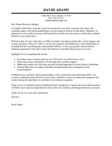 Easter Letter Template - Cover Letter Template Retail Sales assistant Collection