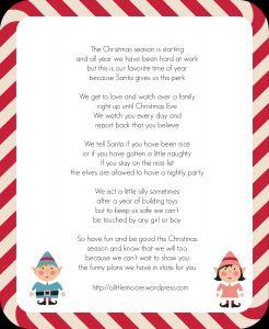 Elf On the Shelf Goodbye Letter Template - Image Elf the Shelf Wel E Letter Template Download Elf