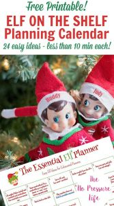 Elf On the Shelf Letter From Santa Template - Elf On the Shelf Calendar Free Printable with 24 Easy Ideas