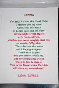 Elf On the Shelf Letter Template - Day 1 Elf On the Shelf I M Back Letter Elfontheshelf Nat Said