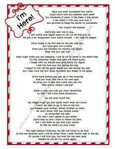Elf On the Shelf Letter Template - Elf the Shelf Letter Bing Food Pinterest