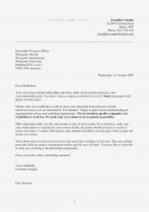 Email Cover Letter Template - Email Cover Letter for Cv