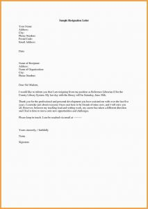 Employee Resignation Letter Template - 23 New Employment Authorization form format