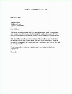 Employee Termination Letter Template - Contract Cancellation Letter Lovely Notice Eviction Template