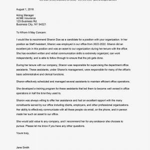 Employer Reference Letter Template - Reference Letter for Employment Example and Tips