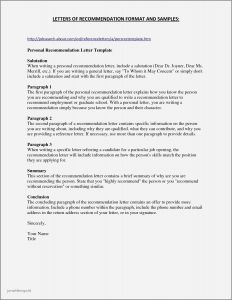Employment Letter Of Recommendation Template - Sample Professor Resume Save Sample Resume Nursing Professor New 20