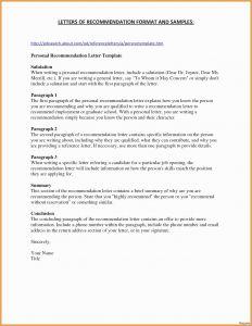 Endorsement Letter Template - Letter Re Mendation format for School Fresh format Writing
