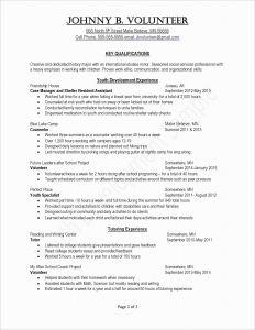 Endorsement Letter Template - Resume Cover Letter Template Luxury 1 Page Resume Templates Fresh
