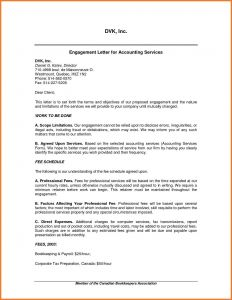 Engagement Letter Template for Accountants - Tax Preparation Engagement Letter Template Samples
