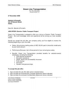 Executive Offer Letter Template - Exempt Fer Letter Template Collection