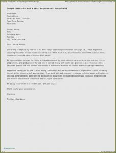 Executor Letter Template - Cover Letter Examples for Job Promotion Business Cover Letter Sample