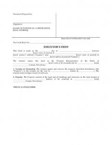 Executor Of Estate Letter Template - Sample Letter Stating Executor Estate
