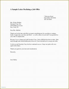 Exemption Letter Template - Example Letter Rejecting Job Fer 2 Exempt Fer Letter Template