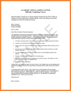 Expulsion Appeal Letter Template - Appeal Letter Template Apextechnews