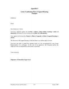 Expulsion Appeal Letter Template - Download Inspirational Medical Appeal Letters
