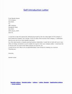 Family Reunion Welcome Letter Template - Cover Letter Purpose Valid Self Introduction Business Letter Sample