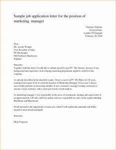 Fancy Letter Template - Inspirational Application Letter for Any Position without Experience
