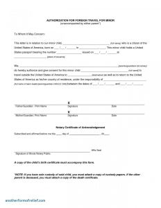 Field Trip Template Permission Letter - Parental Consent Permission Letter Sample Save Sample Travel Consent