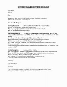 Financial Support Letter Template - Sample Cover Letter Education Administration Inspirational Unique if