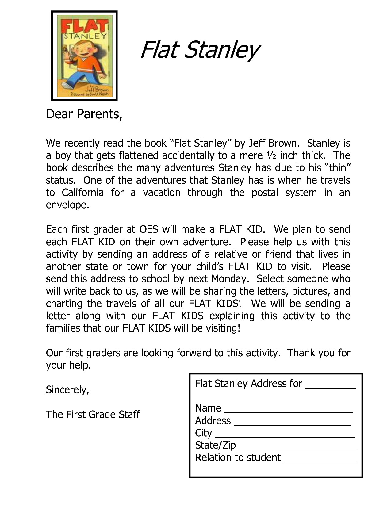 flat stanley letter template Collection-Flat Stanley Letter Template Downloadable Flat Stanley Letter Template Samples apextechnews 1-e