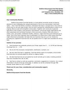 Food Donation Request Letter Template - Food Donation Letter Template Examples