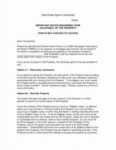 Foreclosure Letter Template - foreclosure Letter Template Cv Templates Relocation Cover Letter