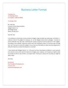 Formal Business Letter format Template - 35 formal Business Letter format Templates & Examples Template Lab