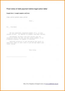 Free Breach Of Contract Letter Template - Breach Contract Demand Letter Template