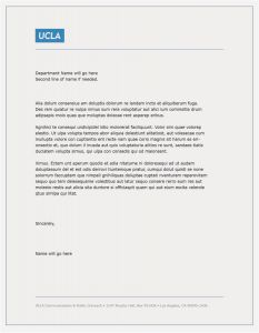 Free Donation Letter Template - Donation Letter Template Word Examples