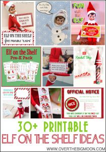 Free Elf On the Shelf Goodbye Letter Template - 30 Printable Elf On the Shelf Ideas Over the Big Moon