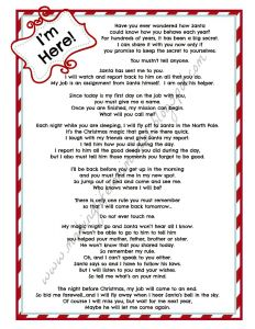 Free Elf On the Shelf Letter Template - Elf the Shelf Letter Bing Food Pinterest