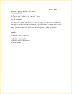 Free Employment Verification Letter Template - Free Sample An Employment Verification Letter Inspirationa