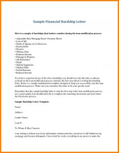 Free Hardship Letter Template - Immigration Hardship Letter Template Examples