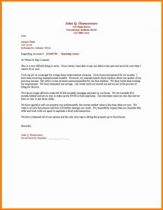 Free Hardship Letter Template - Mortgage Hardship Letter Template Downloadable Sample Hardship