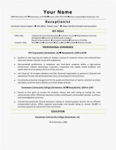 Free Resume Cover Letter Template Word - Executive assistant Resume Samples Examples Word – Free Templates