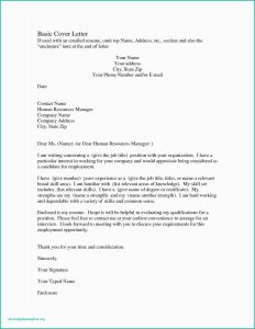 Free Simple Cover Letter Template - Letter Heading format Free formal Letter Template Unique bylaws