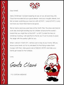 Funny Christmas Letter Template - Christmas Letter Templates Microsoft Word Unique Lovely Free
