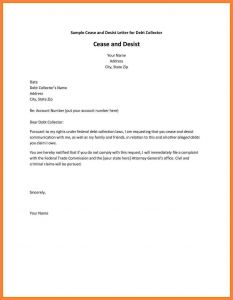 General Cease and Desist Letter Template - Letter to Creditors Cease Trading Best Creditor Cease and Desist