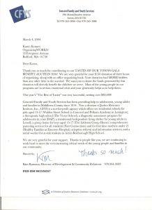 Golf tournament Sponsorship Letter Template - Golf tournament Thank You Letter Template Examples
