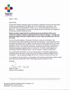 Golf tournament Sponsorship Letter Template - Letter asking for Golf Sponsorship Fresh Golf tournament Sponsor
